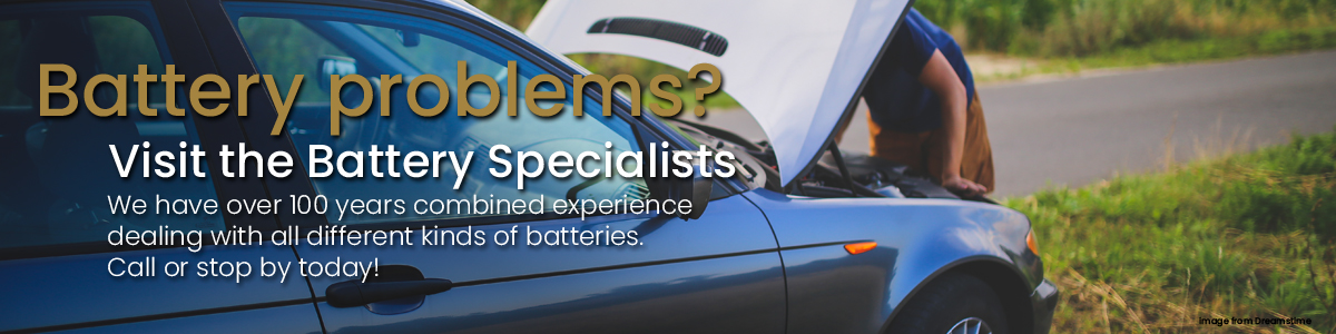 Our battery shop has got your back