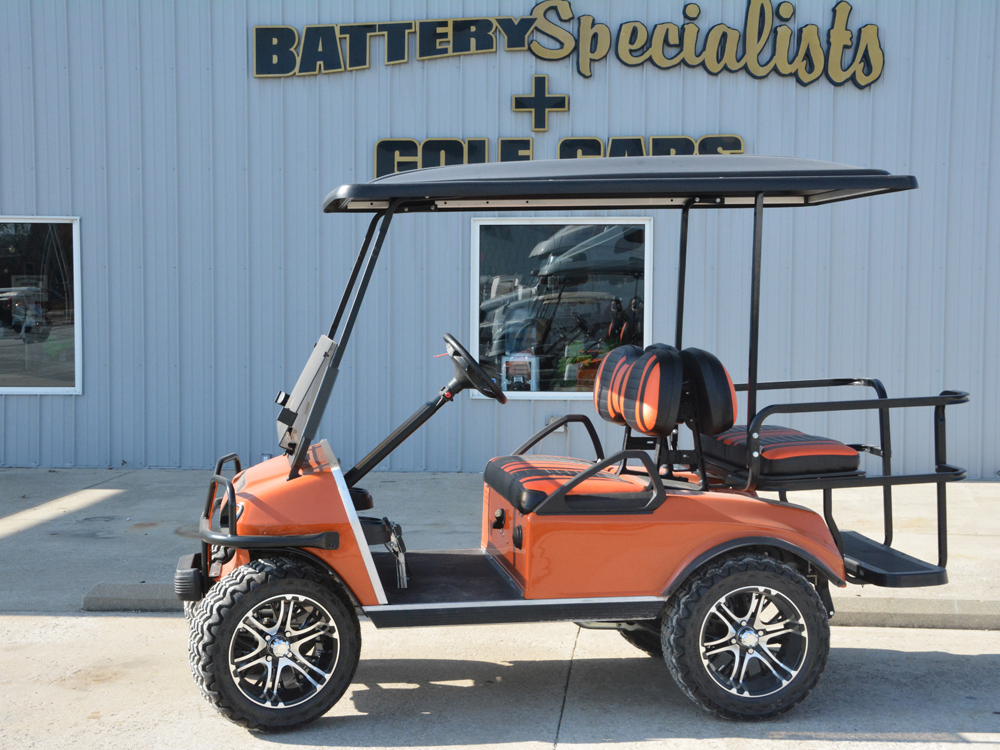 2014 Club Car DS REMANUFACTURED Gas Golf Car Hugger Orange $7695