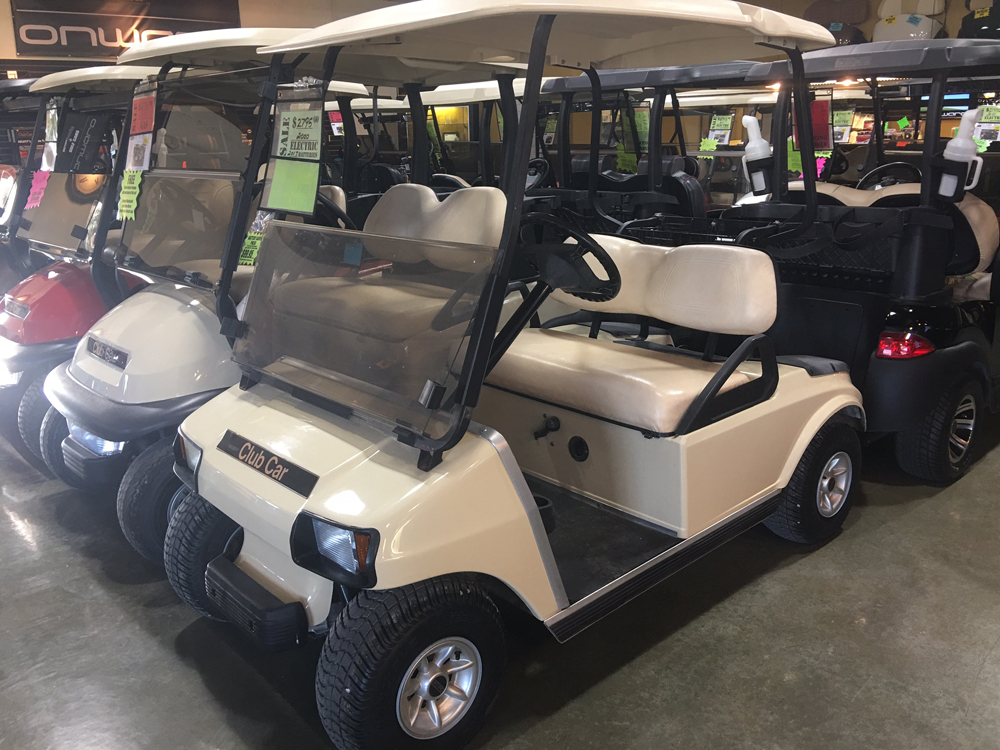 200 Club Car DS Electric Golf Car Classic Beige $2795
