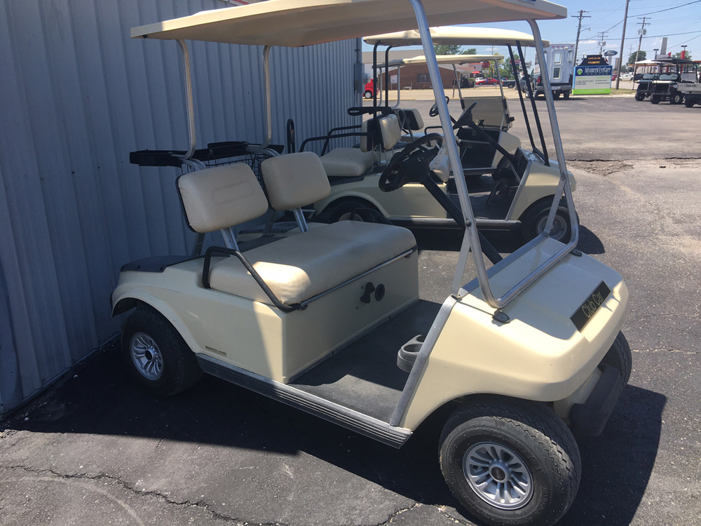 1998 Club Car DS Electric Golf Car Classic Beige $2495