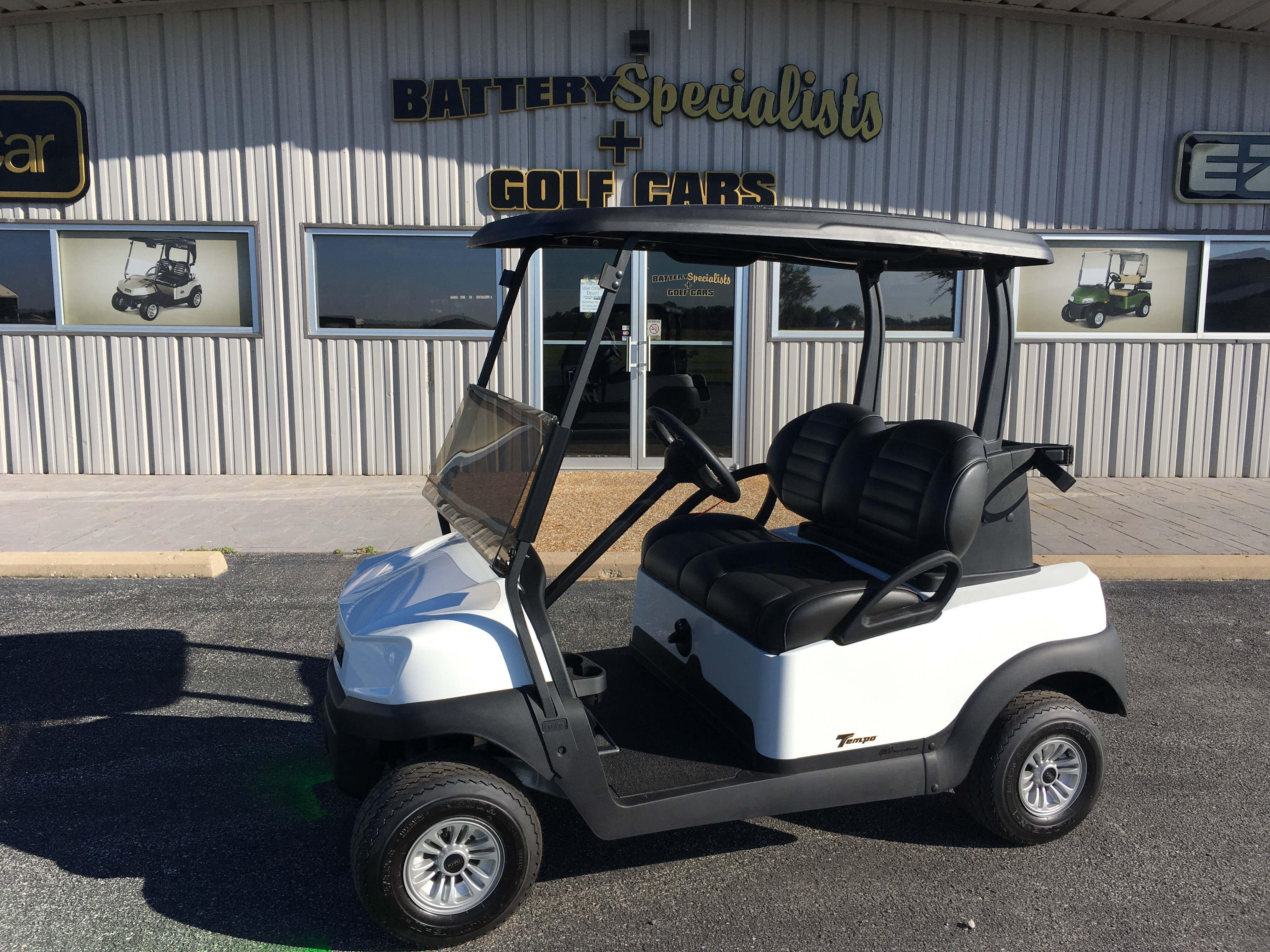 2018 White Club Car Tempo Gas Car $7495