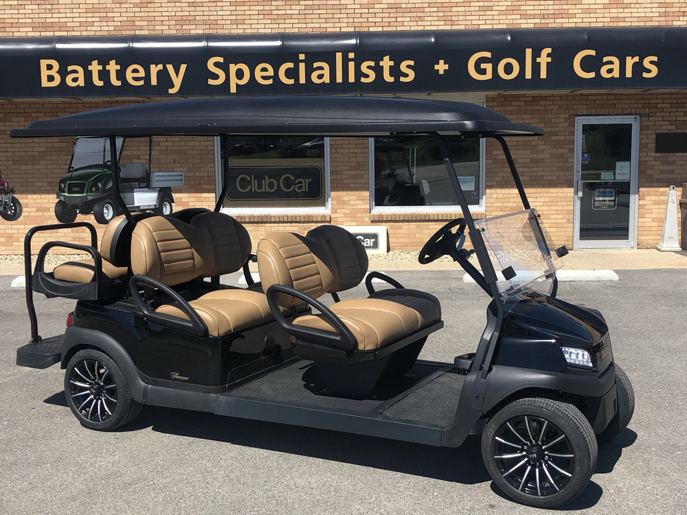 2018 White Club Car Tempo Gas Car $12,800
