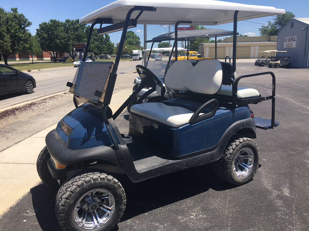 2006 Blue Club Car Precedent Custom Electric Golf Cart $5995