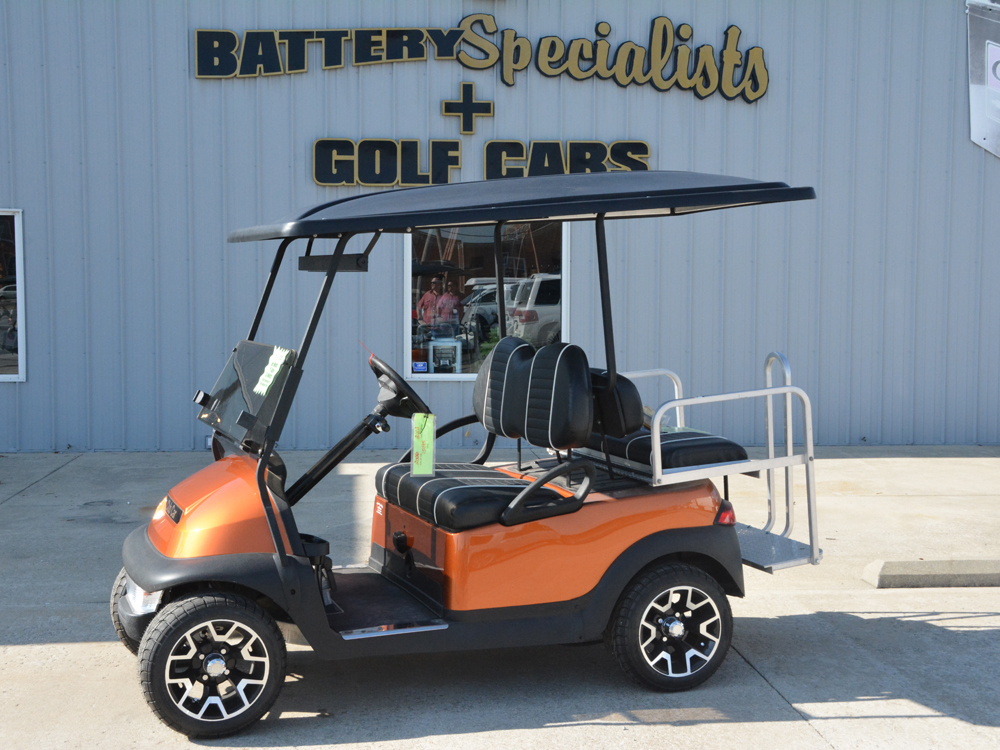 2006 Atomic Orange Club Car Precedent Custom Electric Golf Cart $5495