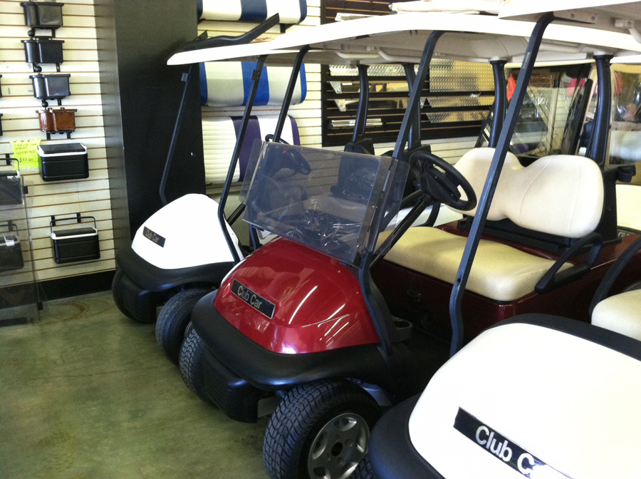 2006 Red Club Car Precedent Custom Electric Golf Cart $3695