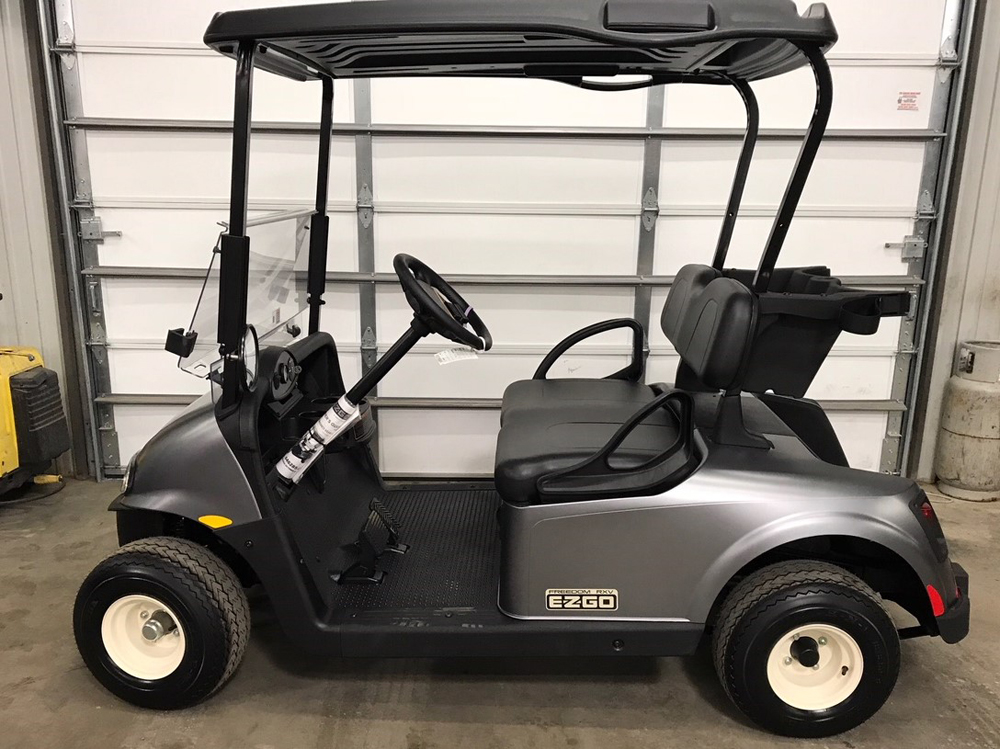2018 Silver EZGO Electric Golf Cart $7619