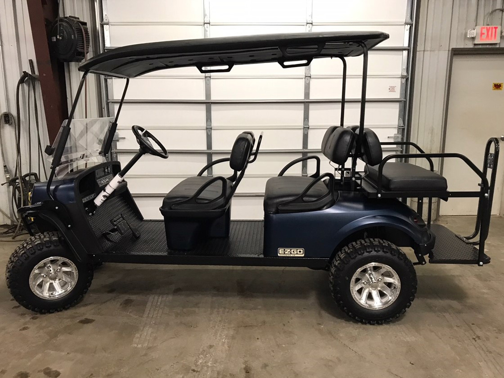 2018 Patriot blue EZGO Electric Golf Cart $10999