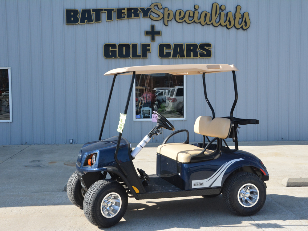 2018 blue EZGO Electric Golf Cart $9453
