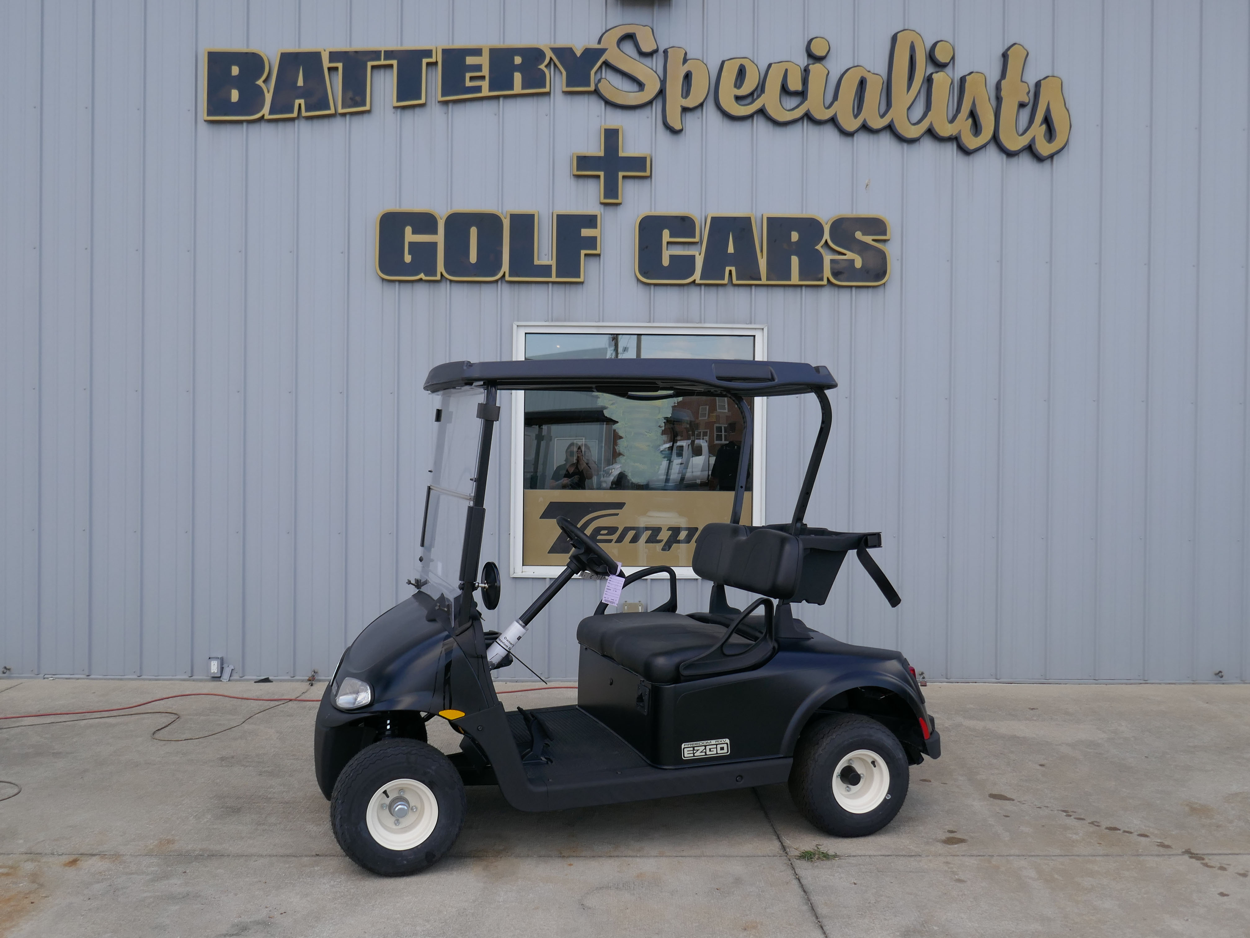 2018 Classic Black EZGO Electric Golf Cart $TBD