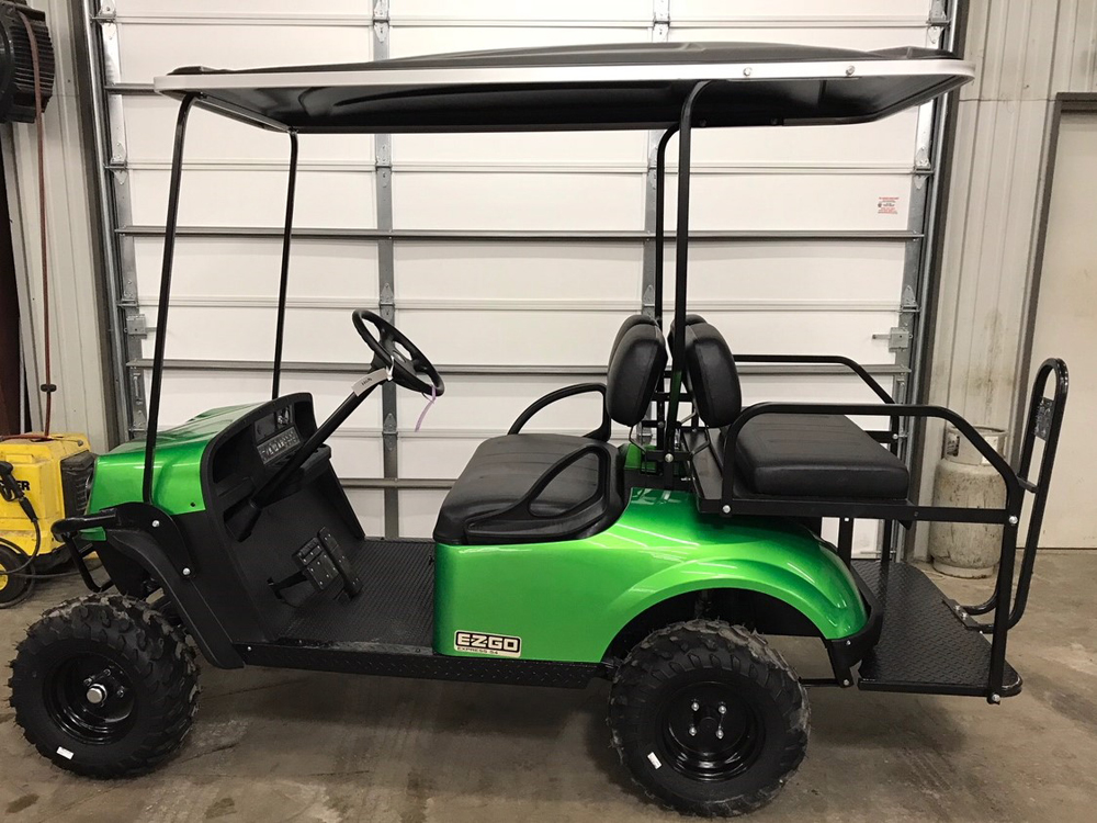 2018 Green EZGO Electric Golf Cart $8953