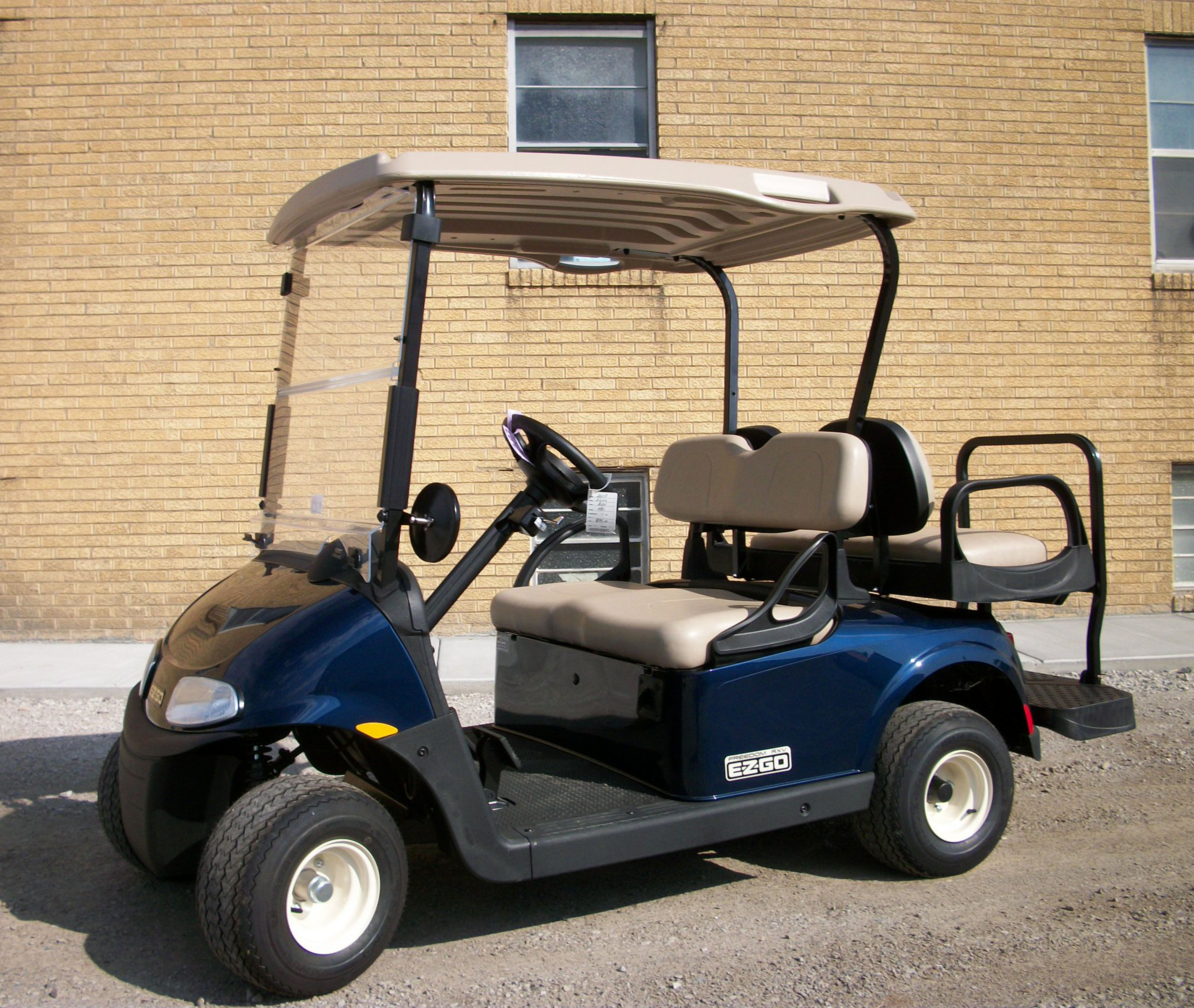 2018 Blue EZGO Electric Golf Cart $7995