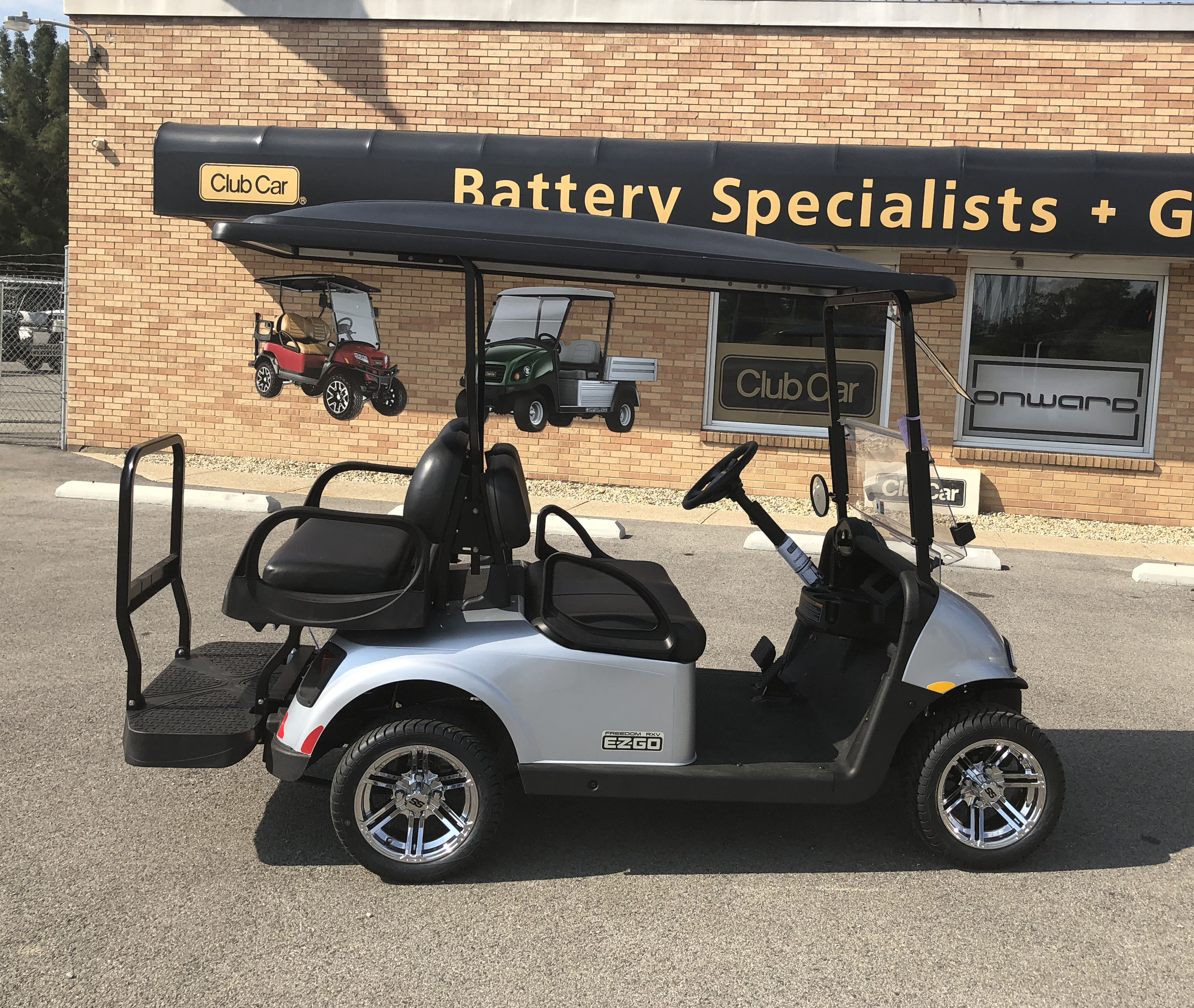 2018 Platinum EZGO Electric Golf Cart $7869