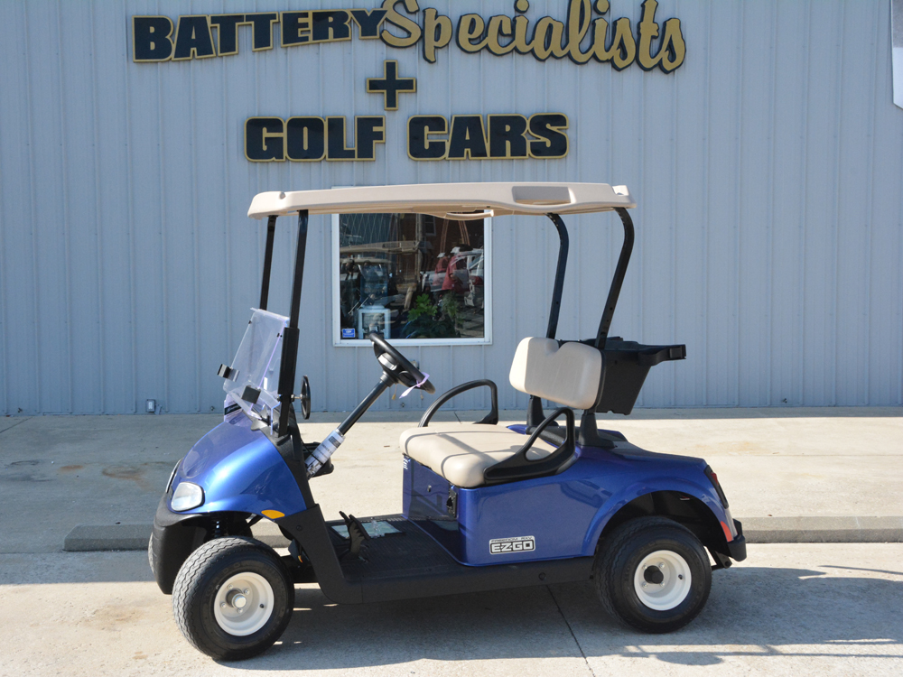 2018 Blue EZGO Electric Golf Cart $7619
