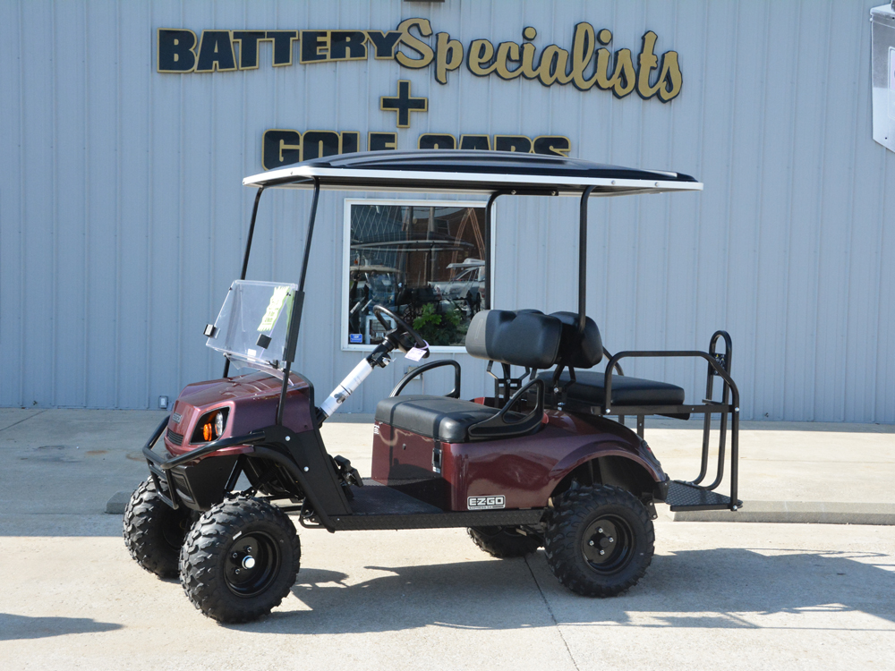 2018 Maroon EZGO Electric Golf Cart $9666