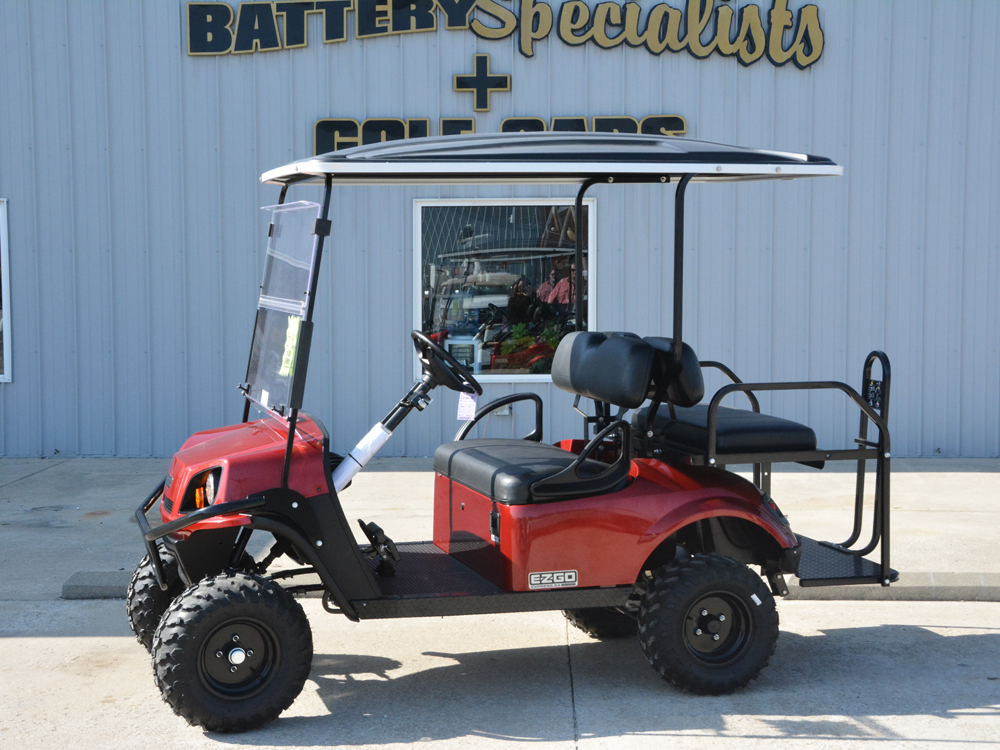 2018 RED EZGO Electric Golf Cart $9453