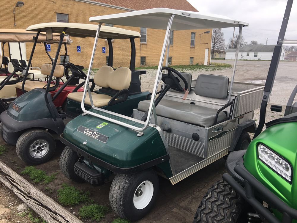 2004 Hunter Green Club Car Carryall Golf Car $3495