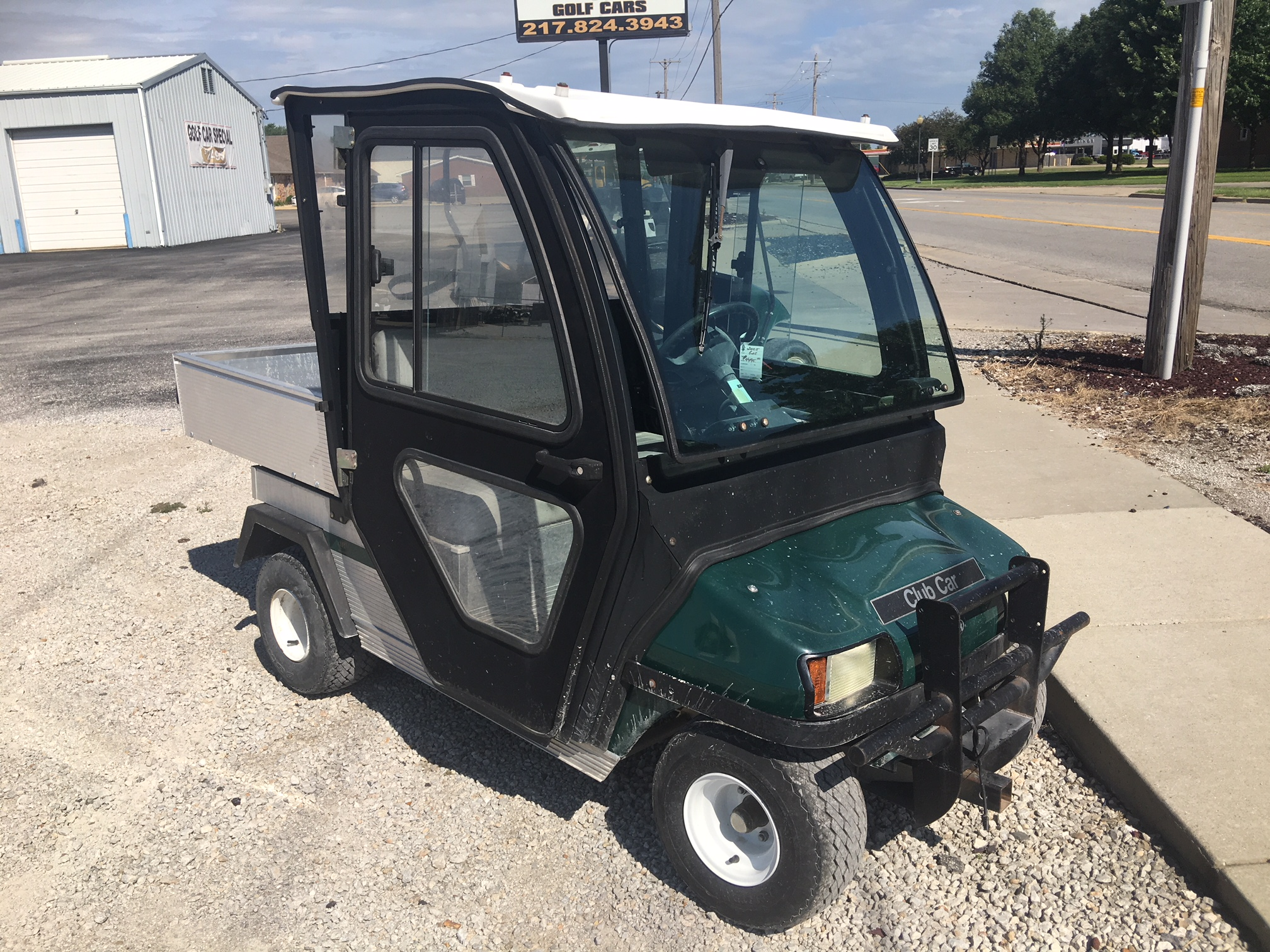 2005 Hunter Green Club Car Carryall Golf Car $TBD
