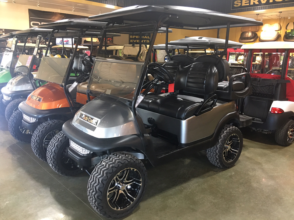 2014 Metallic Gray Club Car Precedent  Electric Golf Car $TBD