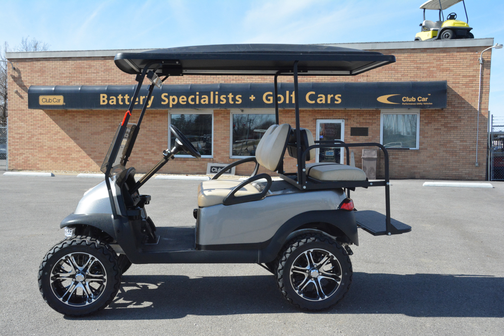 2014 PLATINUM METALLIC Club Car Precedent Electric Golf Car $6850