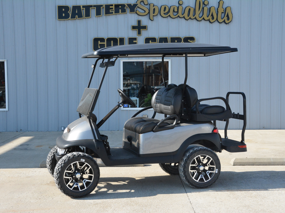 2014 PLATINUM METALLIC Club Car Precedent Electric Golf Car $7495