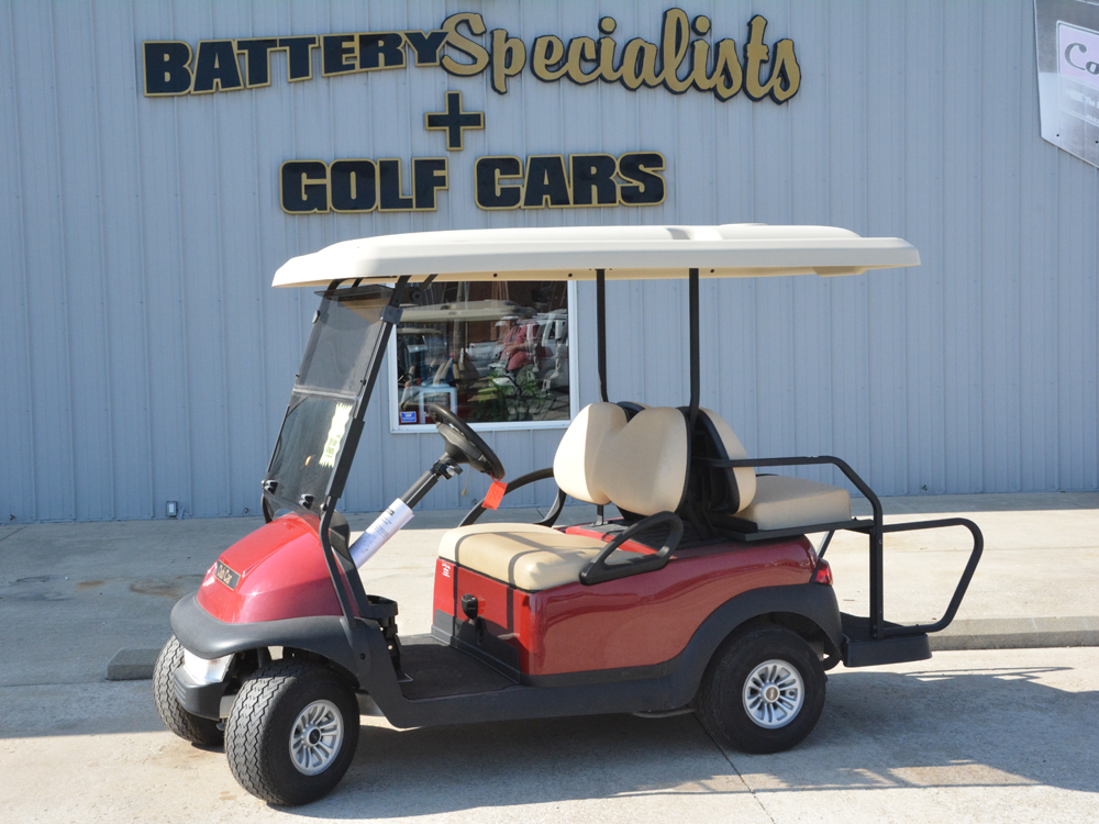 2017 Sangria Club Car Precedent Villager  Electric Golf Car $7995
