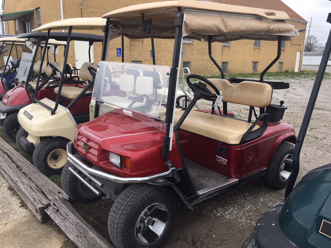 2004 Red Metallic EZGO Electric Golf Car $3495