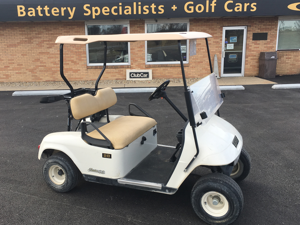 2006 White EZGO Gas Golf Car $3495