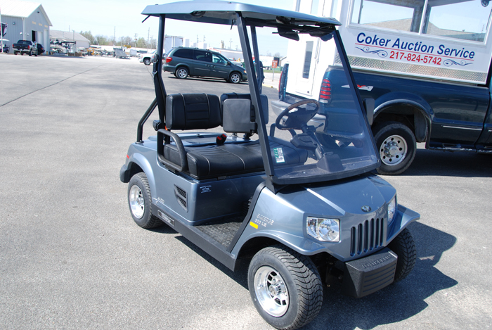 2013 Club Car Villager Grey Electric Low Speed Vehicle $5999