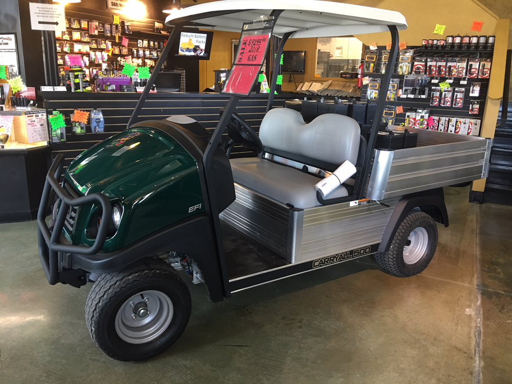 2018 Club Car CARRYALL 500 ELECTRIC UTILITY Cart CLASSIC HUNTER GREEN $9295