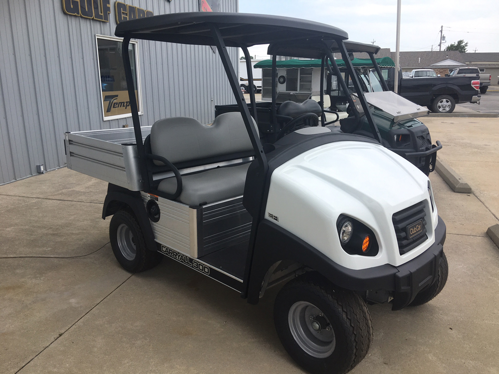 NEW 2017 Club Car CARRYALL 300 ELECTRIC UTILITY Cart WHITE $7495