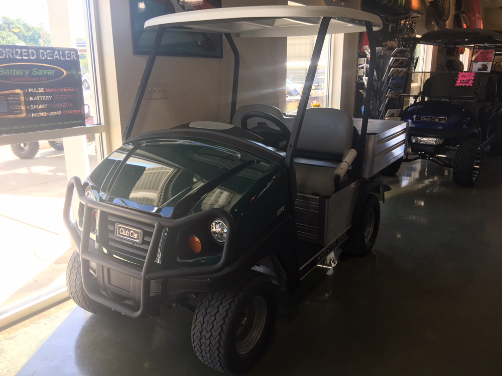 2018 CLASSIC HUNTER GREEN EZGO Gas Golf Car TBD