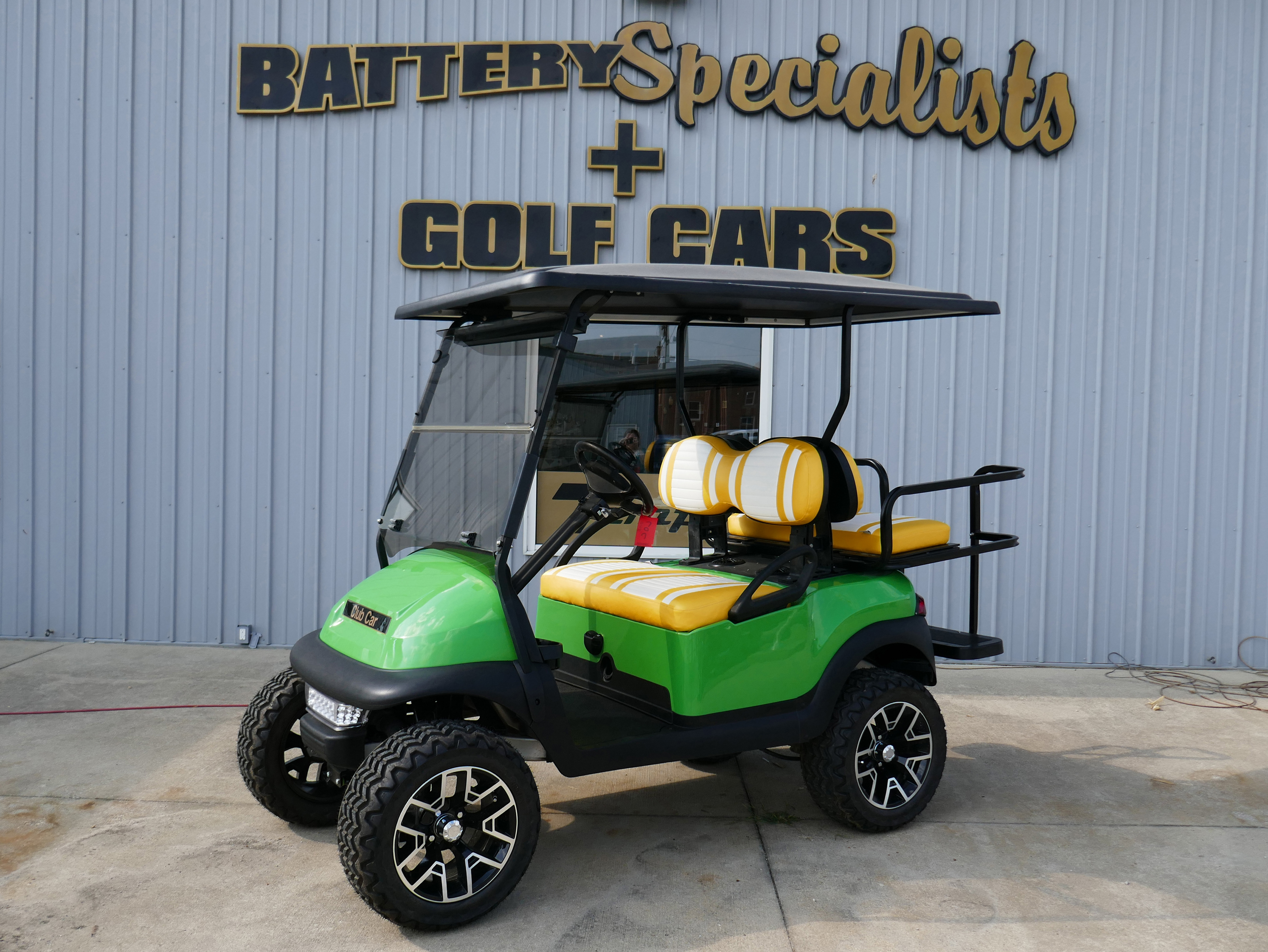 JD GREEN Electric Golf Cart 2010 Club Car Precedent for sale $6995