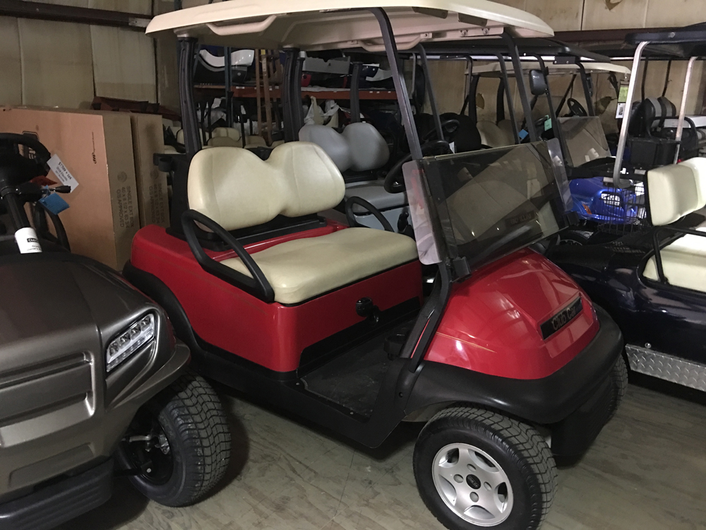 Red Electric Golf Cart 2010 Club Car Precedent for sale $2995