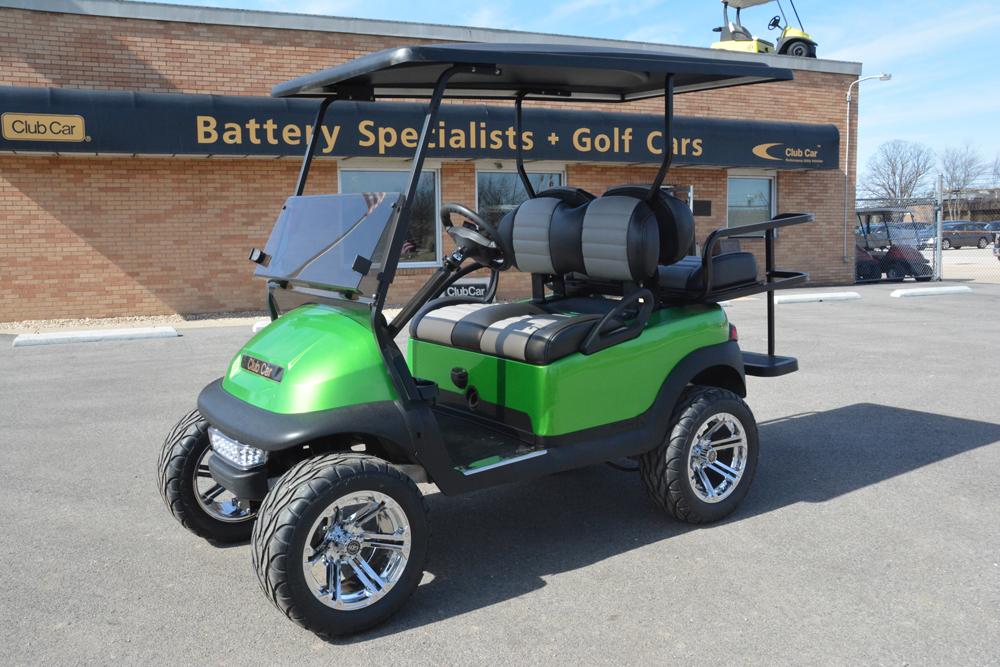 SYNERGY GREEN Electric Golf Cart 2013 Club Car Precedent for sale $6995