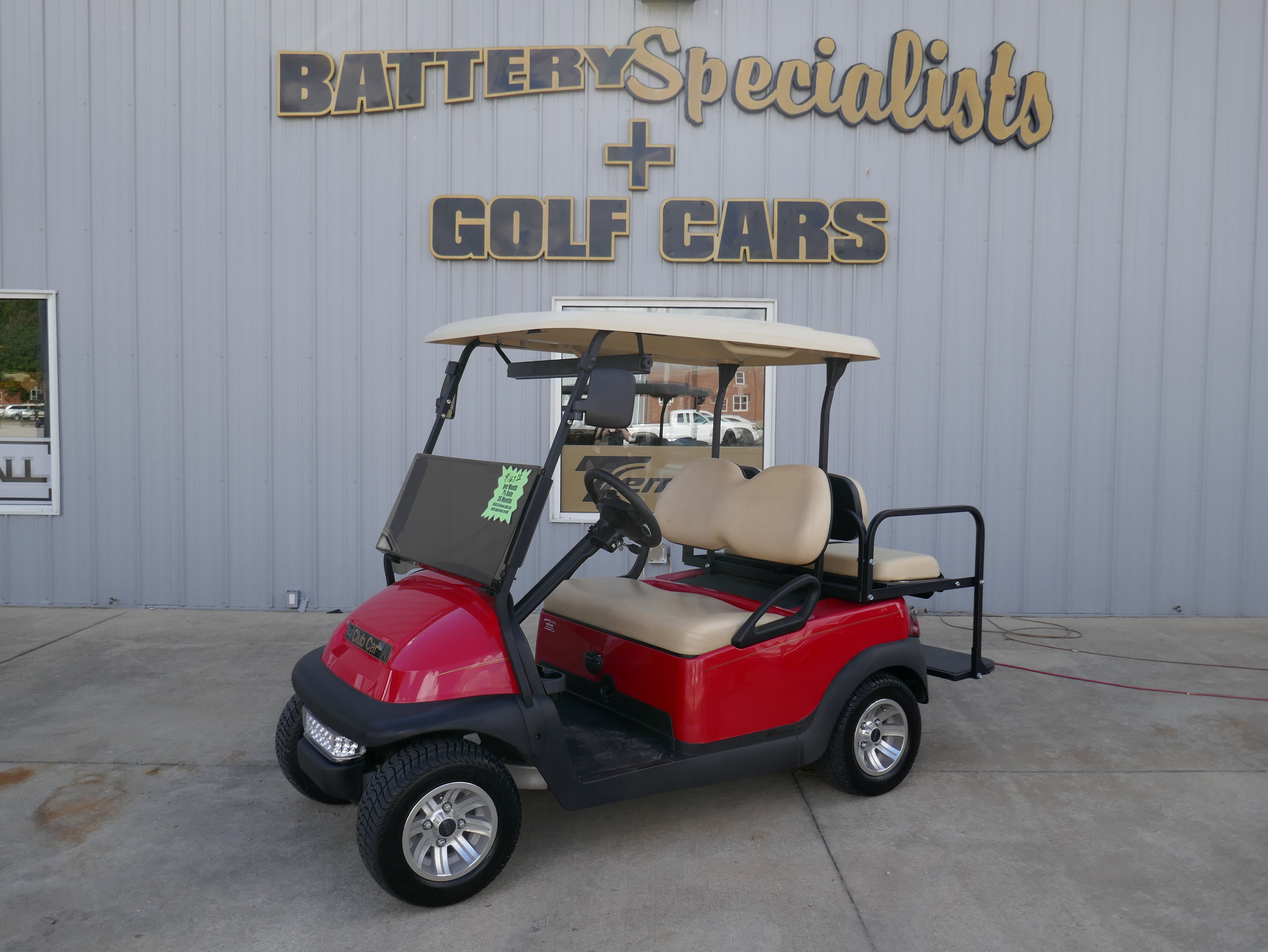 Red Electric Golf Cart 2013 Club Car Precedent for sale $5495