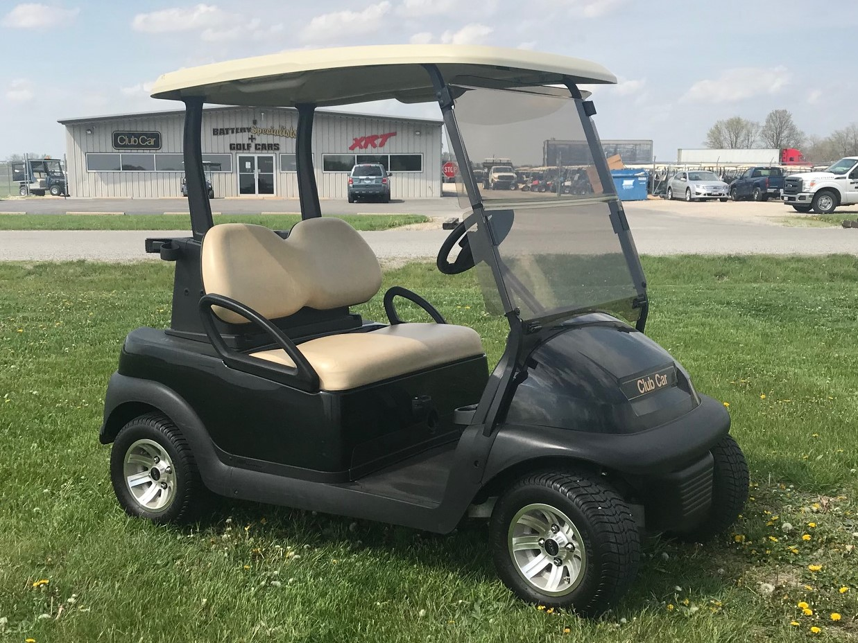 Classic Black Electric Golf Cart 2013 Club Car Precedent for sale $4495