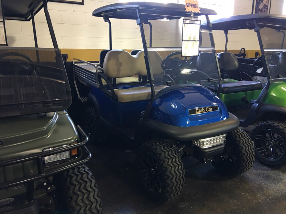 2010 Club Car Precedent ELECTRIC Golf Cart SAPPHIRE $6495