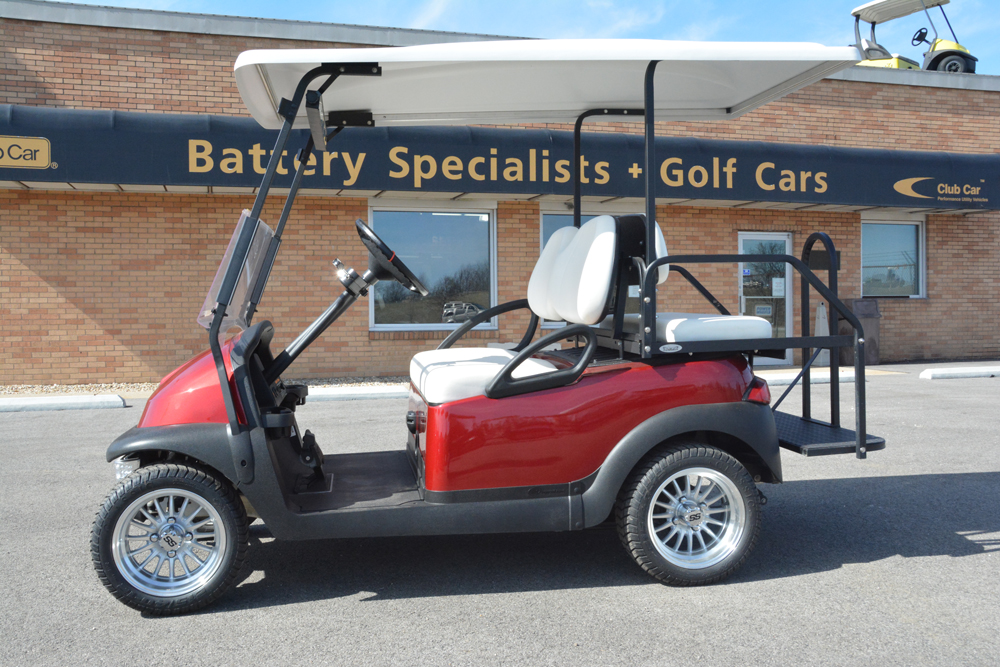 2010 Club Car Precedent ELECTRIC Golf Cart Candy Apple Red $6525