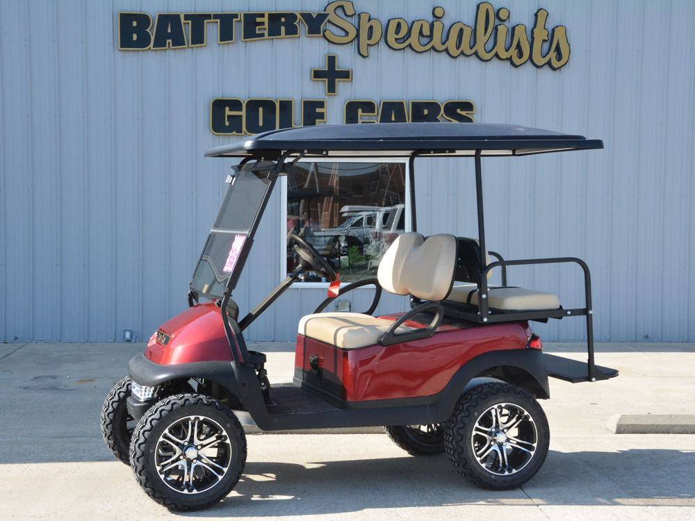 2010 Club Car Precedent ELECTRIC Golf Cart Candy Apple Red $5495
