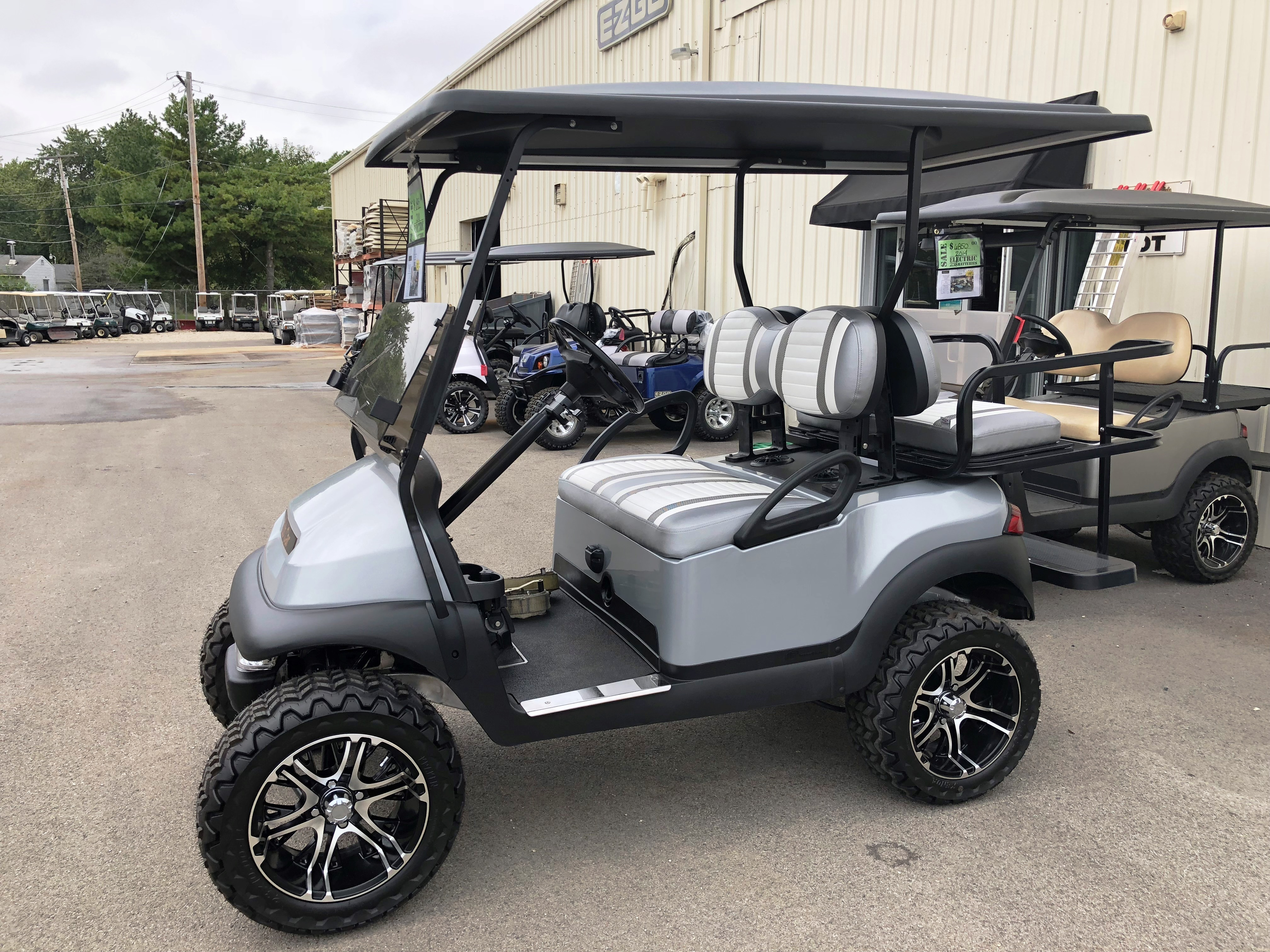 2010 Club Car Precedent ELECTRIC Golf Cart Platinum Red $6995