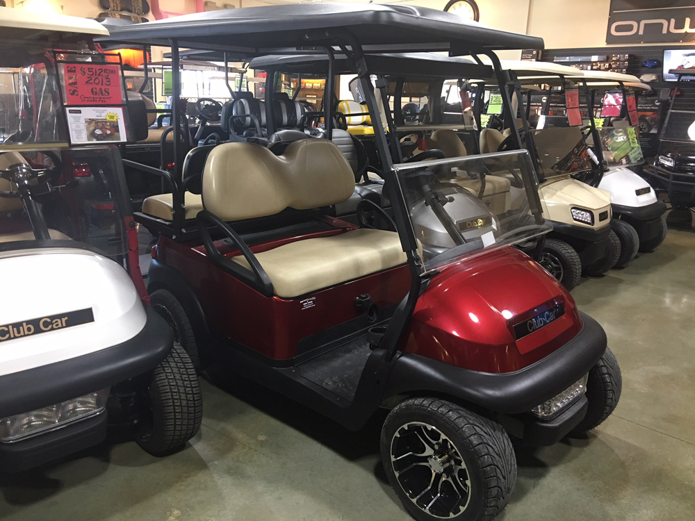 CANDY APPLE RED METALLIC CUSTOM Golf Cart 2011 Club Car Precedent for sale $TBD