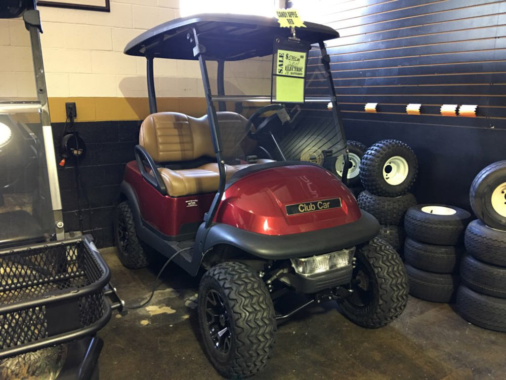 2011 Club Car Precedent ELECTRIC Golf Cart Candy Apple Red $5995