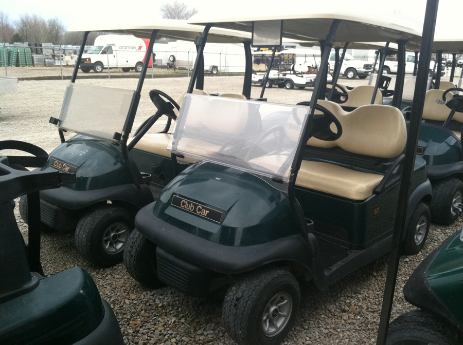 2012 Club Car Precedent ELECTRIC Golf Cart Classic Hunter Green $3995