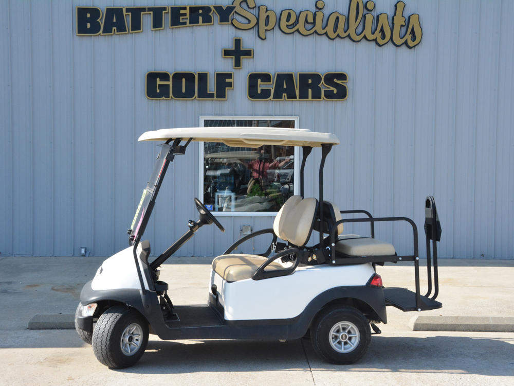 2012 Club Car Precedent ELECTRIC Golf Cart Classic White $4995