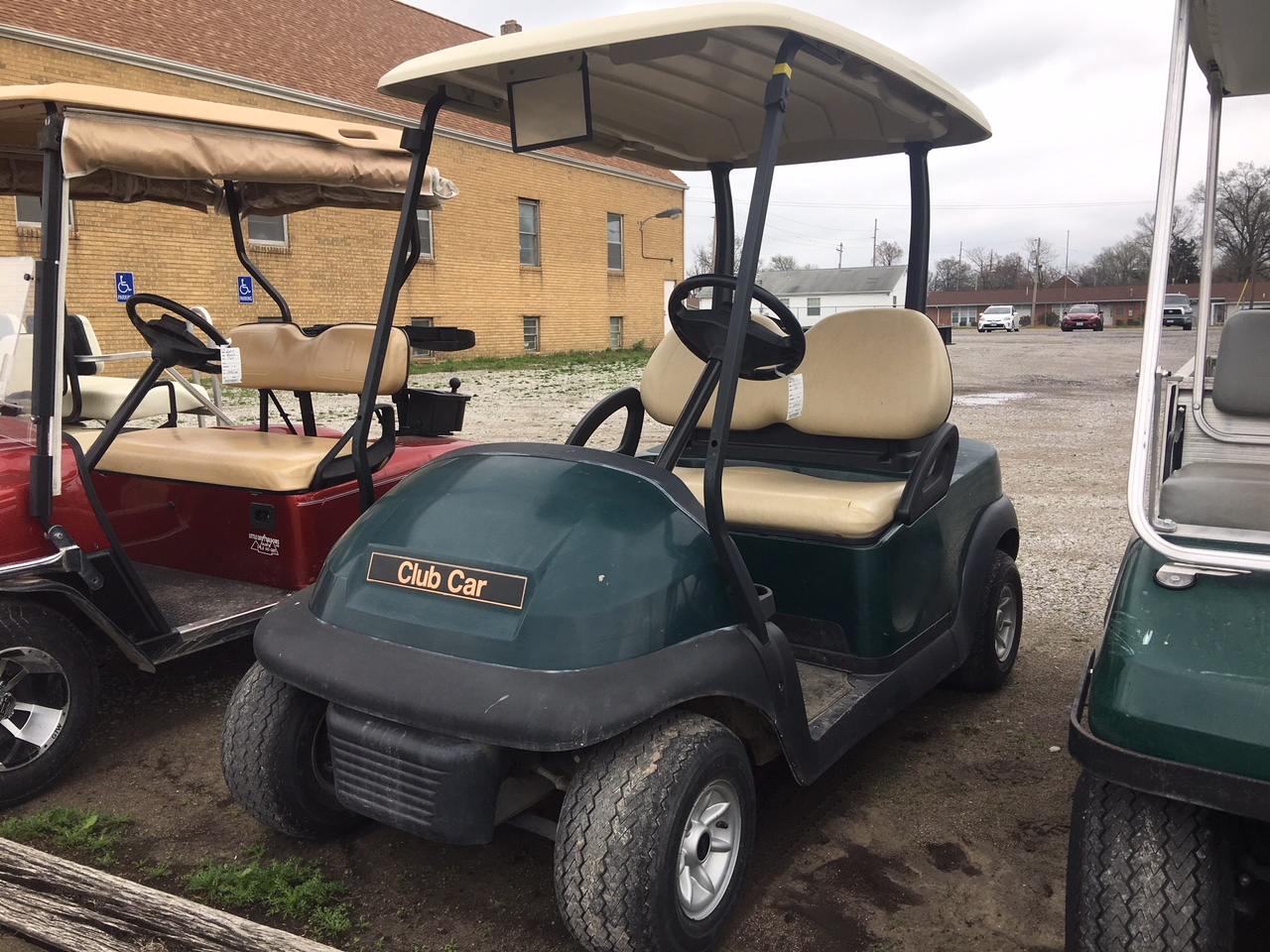 2012 Club Car Precedent ELECTRIC Golf Cart Hunter Green $3995