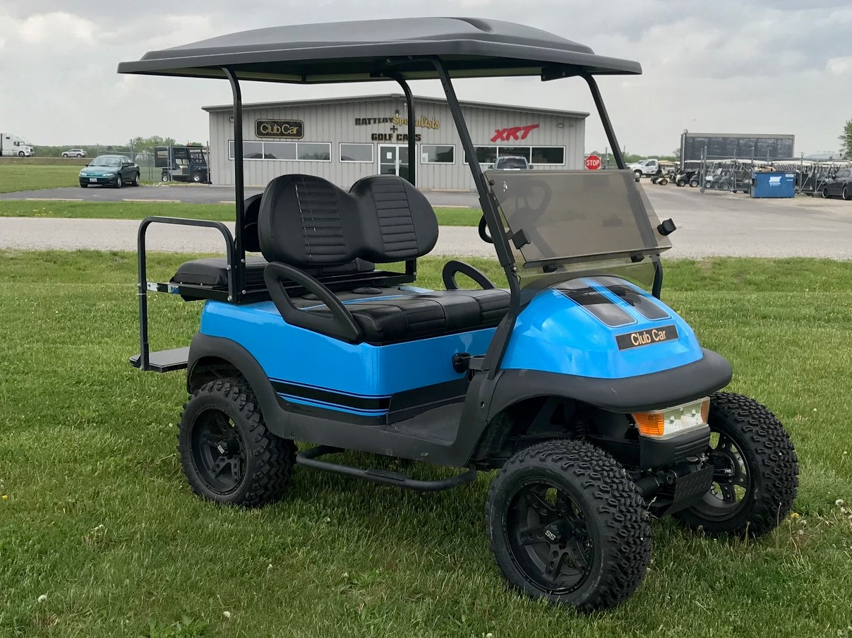 2006 Grabber Blue Car Precedent Electric Golf Cart $5495
