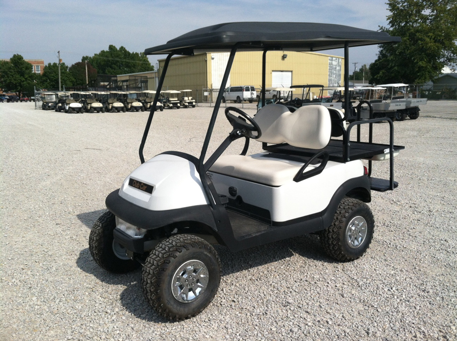 2007 White Pearl Club Car Precedent Electric Golf Cart for sale $5250