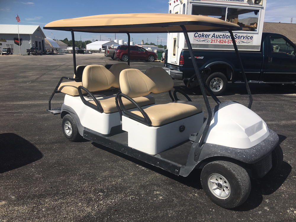 2005 CLASSIC WHITE Precedent Electric Golf Cart $TBD