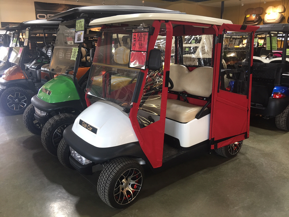 2013 White Club Car Precedent GAS Golf Cart $5125