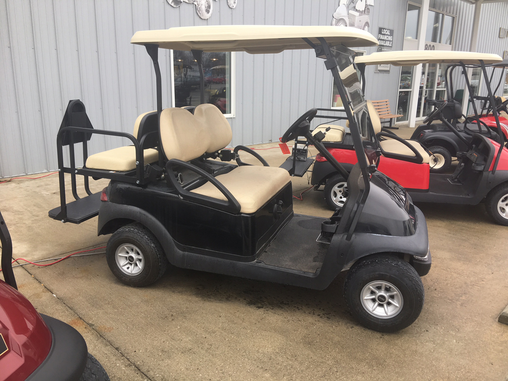 2014 Black Club Car Precedent GAS Golf Cart $5495